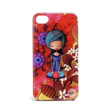 Ketto Iphone Case 4/4S, Blue Lady