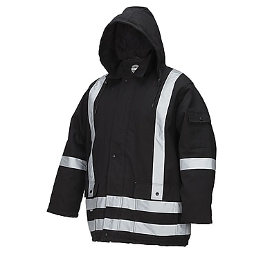 Forcefield Lined Parka, Black, 3XL