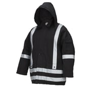 Forcefield Lined Parka, Black