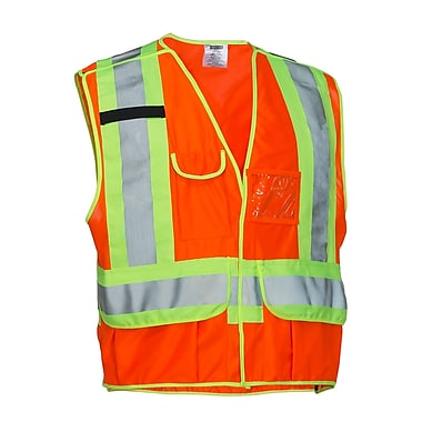Forcefield – Veste de sécurité détachable en 5 points, orange, grand-très grand