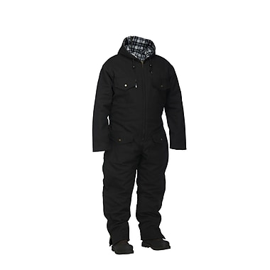 Forcefield Lined Canvas Coverall, Black, 3XL