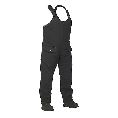 Forcefield Lined Canvas Overall, Black, 3XL