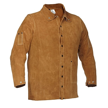 Forcefield Leather Welding Jacket, Suede, XL
