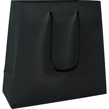 Trapezoid Eurotote, Black, 9/7