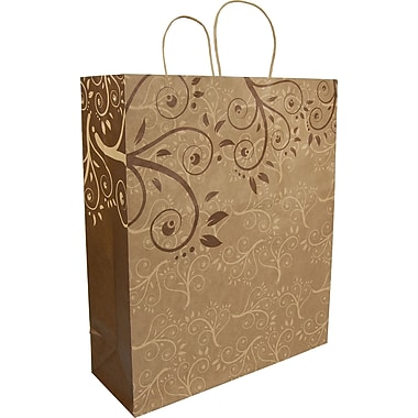 Gunther Mele Ltd. Rainforest Paper Shopping Bag, 100/Case