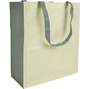 "Two-tone Non-woven Reusable Bag, 14"" x 6"" x 16"" x 6"", 100/case"