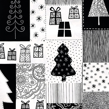 Papier d'emballage Inspirations, 24 po x 417 pi, 1 rame en rouleau, n° 6535