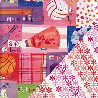 Papier d'emballage Inspirations, 24 po x 417 pi, 1 rame en rouleau, n° 6040