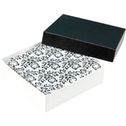 Gunther Mele Ltd. Damask Cotton Filled Jewellery Box,  100/Case