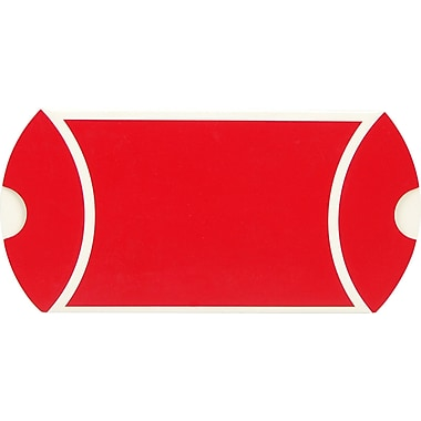Pillow Box, Red and White, 3