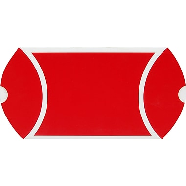 Pillow Box, Red and White, 4