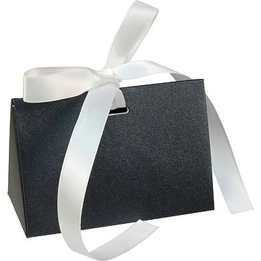 Gunther Mele Ltd. Gift Card Box with Ribbon, Black, 100/Case