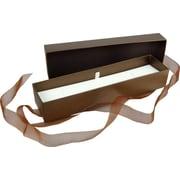 "Velocity Taupe Jewellery Box, 9"" x 2-1/4"" x 1-1/2"", 25/Case"