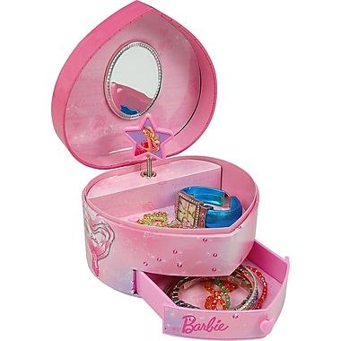 Coffret à bijoux Barbie « Souliers roses », rose
