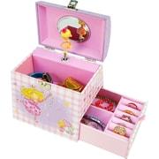 Coffret à bijoux Emma, rose et violet