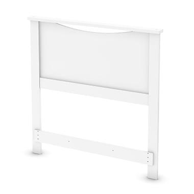 South Shore – Tête de lit une place, 39 po, fini blanc pur