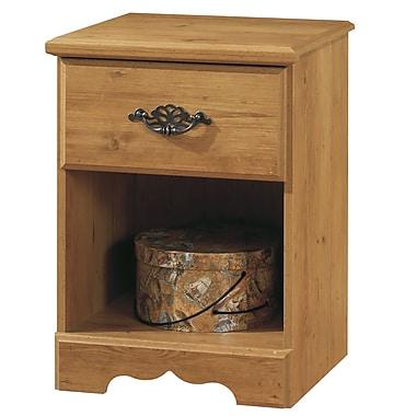 South Shore – Table de chevet, collection Prairie, 25 po, pin campagnard