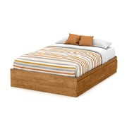 "South Shore Little Treasures Full Mates Bed 54"" with 3 Drawers, Country Pine"