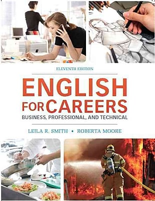 English for Careers: Business, Professional and Technical (11th Edition)