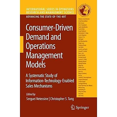Consumer-Driven Demand and Operations Management Models (Hardcover)