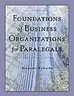 Foundations of Business Organizations for Paralegals