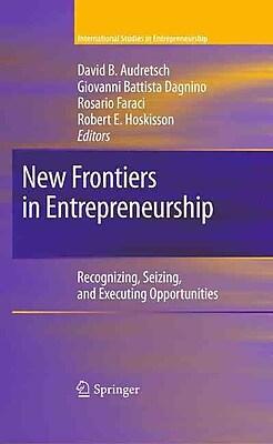 New Frontiers in Entrepreneurship