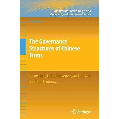 The Governance Structures of Chinese Firms (Hardcover)