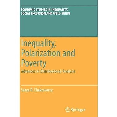Inequality, Polarization and Poverty: Advances in Distributional Analysis