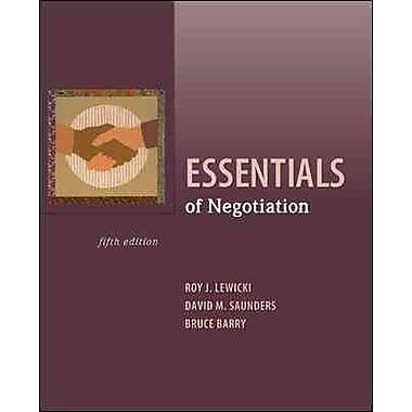 Essentials of Negotiation, Used Book