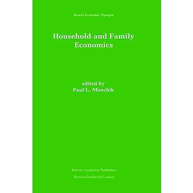 Household and Family Economics (Recent Economic Thought)