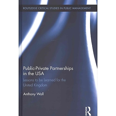 Public-Private Partnerships in the USA