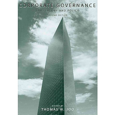 Corporate Governance: Law, Theory and Policy