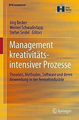 Management Creativity-Intensive Processes