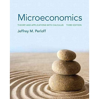 Microeconomics: Theory and Applications with Calculus, New Book