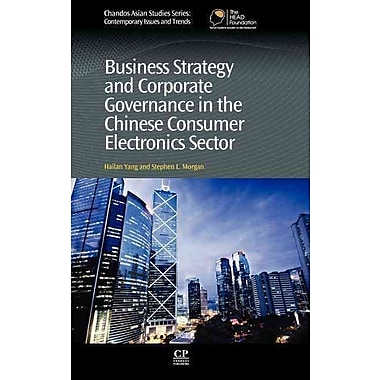 Business Strategy and Corporate Governance in the Chinese Consumer Electronics Sector (Chandos Asian Studies)