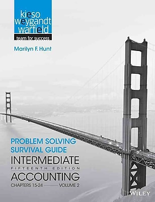 Problem Solving Survival Guide to accompany Intermediate Accounting, Volume 2: Chapters 15 - 24