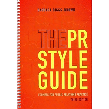 The PR Styleguide: Formats for Public Relations Practice