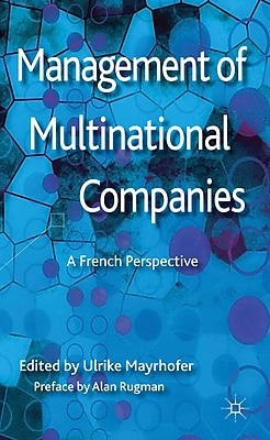 Management of Multinational Companies: A French Perspective