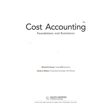 Cost Accounting (LL)