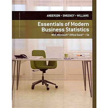 Essentials of Modern Business Statistics with Microsoft Excel, Used Book