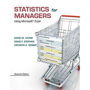 Statistics for Managers Using Microsoft Excel Plus MyStatLab, New Book