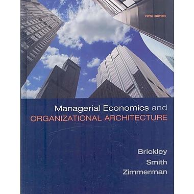 Managerial Economics & Organizational Architecture, Used Book