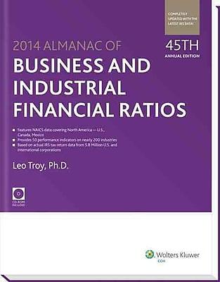 Almanac of Business & Industrial Financial Ratios