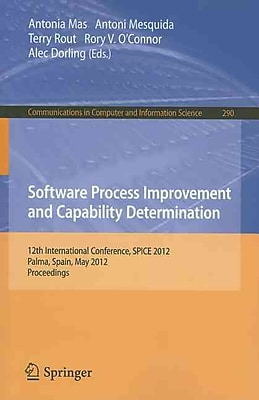 Software Process Improvement and Capability Determination: