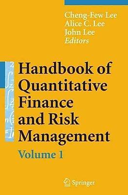 Handbook of Quantitative Finance and Risk Management (v. 1-3)