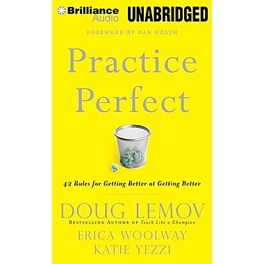 Practice Perfect: 42 Rules for Getting Better at Getting Better (AC)