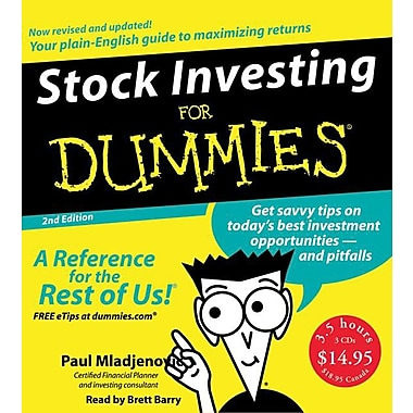 Stock Investing for Dummies 2nd Ed. CD