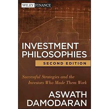 Investment Philosophies Aswath Damodaran Hardcover