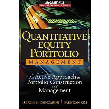 Quantitative Equity Portfolio Management