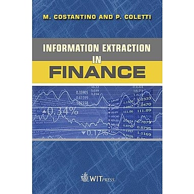 Information Extraction in Finance (Advances in Management Information Systems)